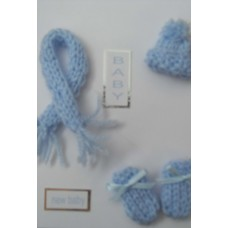 Baby Hat and Scarf set