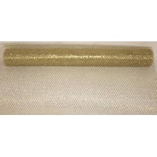 Large Roll of Gold Glitter Mesh