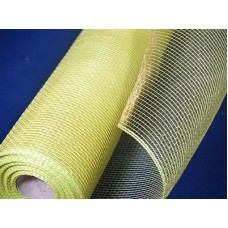 Large Roll of Apple Green Geo Mesh