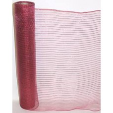 Small Roll of Plum Geo Mesh