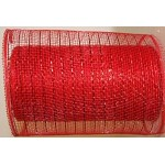 Small Roll of Red Geo Mesh