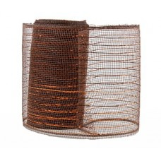 Small Roll of Bronze Geo Mesh