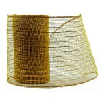 Small Roll of Gold Geo Mesh