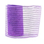 Small Roll of Lilac Geo Mesh