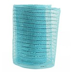Small Roll of Pale Blue Geo Mesh